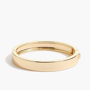 JCREW Factory Classic Gold Bangle Bracelet